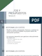COSTOS Y PRESUPUESTOS - 1
