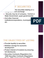 43_listing of Securities 1