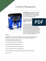 Tom Strignano Money Management Review