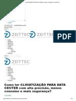 CLIMATIZAÇÃO PARA DATA CENTER_ projeto e instalação na região SUL