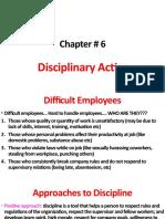 IRLL week 8 disciplinary action