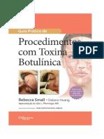 Toxina botulinica - págs de livro