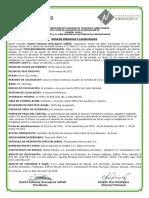 Hoja de terminos de los Titulos de Participacion de Titularizadora NuevoValor Emision 2019-I