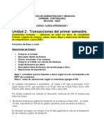 Unidad II -CASUISTICA 2020  1er SEMESTRE