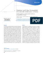 Archives de Pédiatrie Volume 24 issue 10 2017 [doi 10.1016%2Fj.arcped.2017.07.007] Ksibi, I.; Achour, R.; Bel Haj Ammar, W.; Cheour, M.; Ben Amara, -- Prophylaxie anti-D dans l'incompatibilité fœto-ma