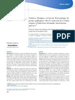Archives de Pédiatrie Volume 24 issue 10 2017 [doi 10.1016%2Fj.arcped.2017.07.009] Glusko-Charlet, A.; Fontaine, C.; Raucy, M.; Barcat, L.; Lahana, -- Critères cliniques en faveur d'un portage de germ