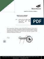 RD 01-009-19 Aprueba el texto ordenado del Reglamento de Destrucción