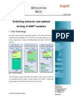Infineon - AN2003-03 - Switching behaviour and optimal driving of IGBT modules