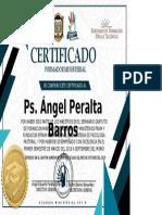 CERTIFICADO ESPECIAL