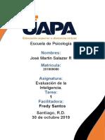 Tarea 1 Evaluacion de la Inteligencia Jose Martin Salazar