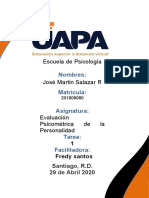 Tarea 0 1 Evaluacion psicometrica de la personalidad Jose Martin Salazar