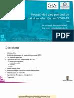 Bioseguridad para el personal de salud en infección por COVID -19 Primera parte