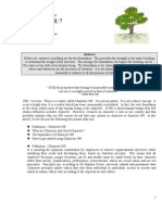 Article on Character - IPM Journal Sep 2008