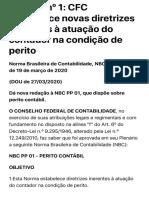 NBC PP nº 1