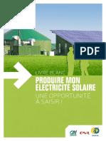 livre blanc sur le solaire