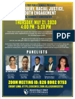 DPPS Ahmaud Arbery Panel Flier