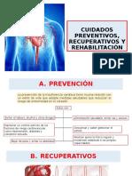 ICC CUIDADOS PREVENTIVOS, RECUPERATIVOS Y REHABILITACIÓN
