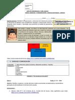 Guía de aprendizaje articulación 4°básico