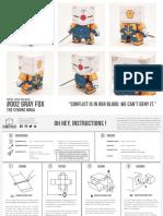 ninja metal gear paper toy