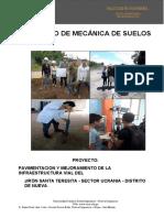 INFORME MECÁNICA DE SUELOS word