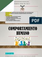COMPORTAMIENTO HUMANO- POWER POINT
