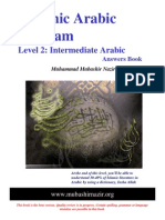 Arabic Grammar - Level 02 - English Answers