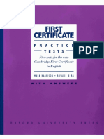 First Certificate Practice Tests With Answers (M. Harrison, R. Kerr)