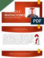 REGALOS E INVITACIONES - CODIGO DE ETICA
