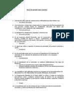 Guía de estudio Psiquiatría 2020