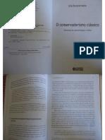 O conservadorismo clássico - Leila Escorsim Netto (cap. 1.2 e 1.3)