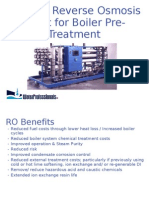 Wp Ro for Boiler Pre Treatment