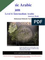 Arabic Grammar - Level 04 - English Answers