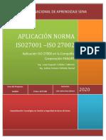 Aplicación Norma 27001 Corporación PANURÉ.pdf