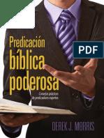 Derek Morris  PREDICACION BIBLICA PODEROSA.pdf