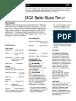 H3CA Timer Setup Instructions