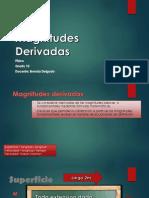 Magnitudes Derivadas