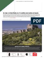 Hermosos castillos en Españ viajes