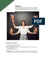 Procesos psicológicos y filósofos