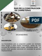 Semana 3 Maquinarias en Construccion de Carreteras