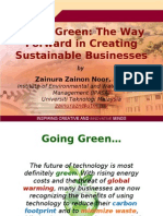 Green_Technology-TPM by UTM Dr Zainura