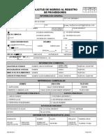 formato proveedores.doc