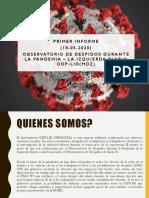 Observatorio de Despidos de Mendoza