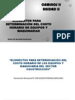 UNIDAD II SEMANA 2 Y 3 DETERMINACION COSTO HORARIO DE MAQUINARIAS.pdf