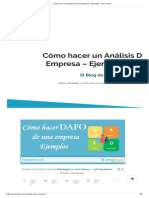 Cómo hacer un Análisis Dafo de Empresa + Ejemplos - Ana Trenza.pdf