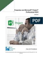 Administra Projectos con MS Project 2013