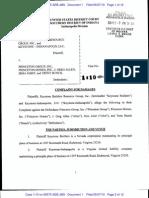 Complaint - Keystone v. Princeton