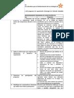 Taller Dimensionamiento del programa de capacitación Estrategia de Vivienda Saludable (EVS)