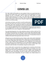 COVID essay