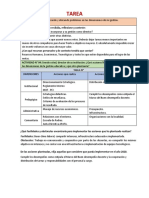 ACTIVIDAD N° 03 Identificando y ubicando problemas en las dimensiones de mi gestión.
