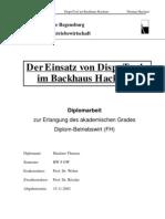 Warenverteilsystem in Bäckereifilialen von T. Hackner